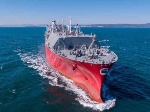 Capital Gas Ship Management Corp Takes Delivery of LNG Carrier 'Aristos I'